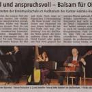 Traummusik Konzert Rotenburg